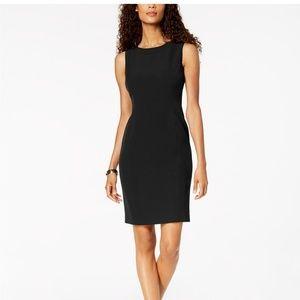 Kasper Black dress form fit pencil